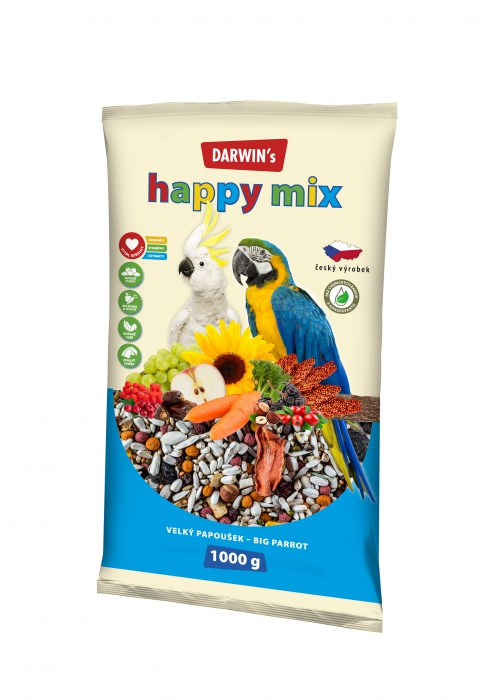DARVINsVelky-papousek-Happy-Mix
