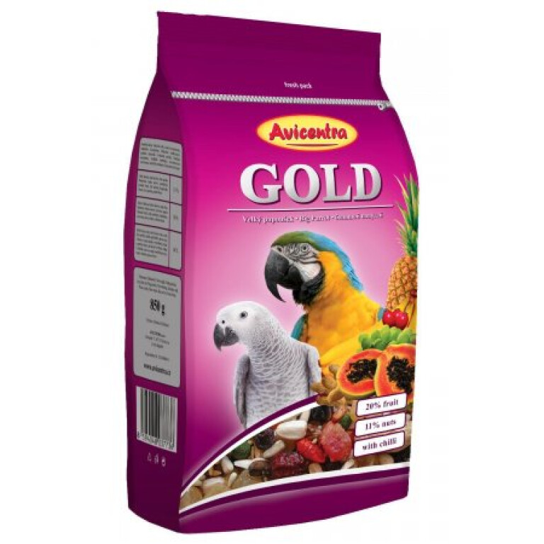 Avicentra-velky-papousek-GOLD-850g