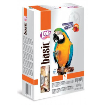 LOLO-BASIC-ovocne-krmivo-velky-papousek-900g