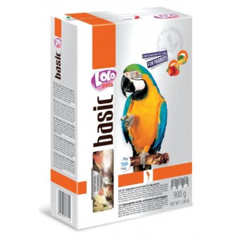LOLO-BASIC-zeleninovo-ovocne-krmivo-velky-papousek-900g