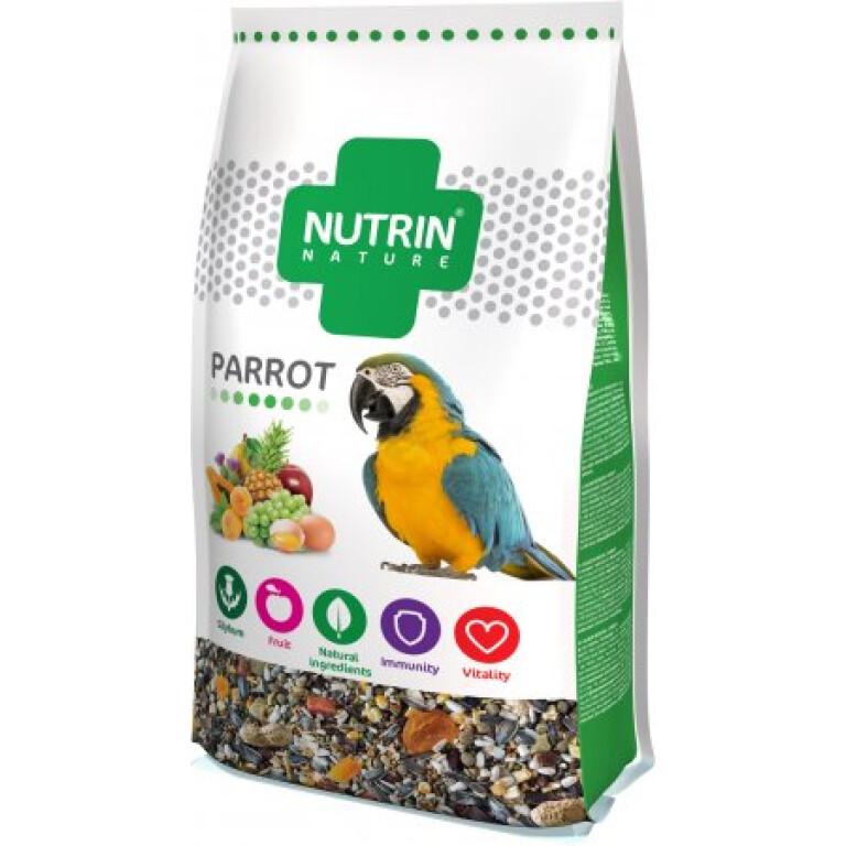 NUTRIN-Nature-papousek-750g-zrni