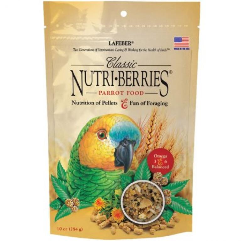 Nutri-Berries-Parrot-Classic-284g