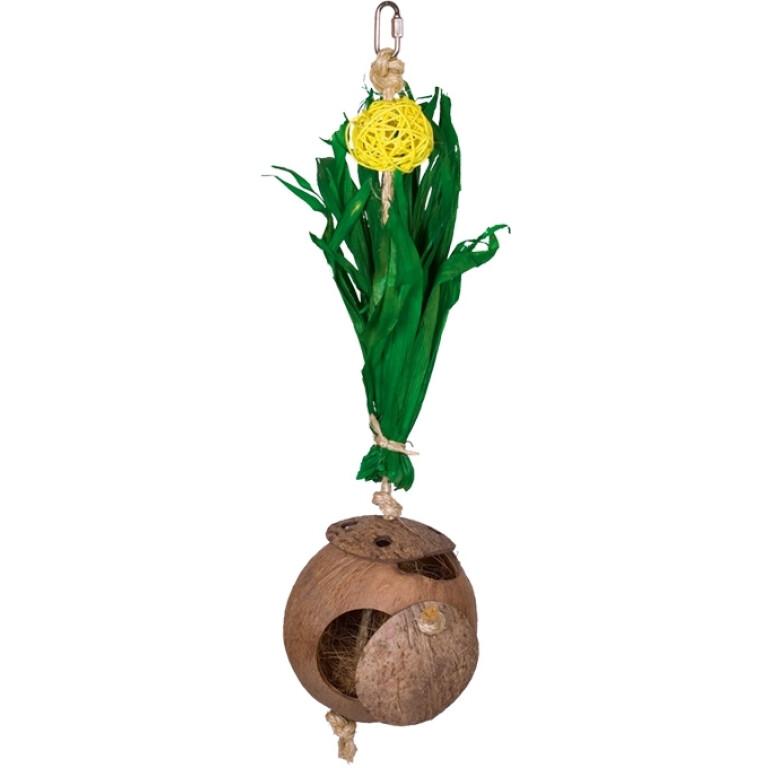 Kokosovy-dum-s-kukuricnymi-listy